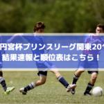 【高円宮杯プリンスリーグ関東2019】結果速報と順位表はこちら!