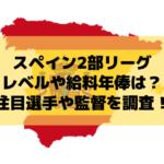 【スペイン2部】セグンダ・ディビシオンのリーグレベルや給料年俸は?日本人・注目選手や監督を調査!