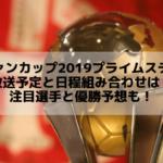 ルヴァンカップ2019プライムステージの放送予定と日程組み合わせは?注目選手と優勝予想も!