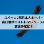 スペイン2部日本人キーパー山口瑠伊エストレマドゥーラの放送予定は?