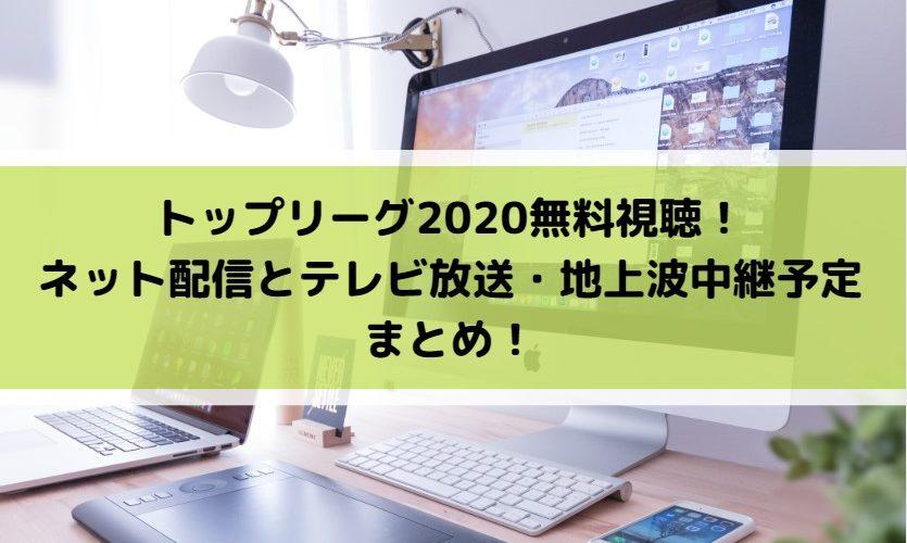 トップ リーグ テレビ 放送