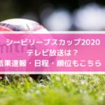シービリーブスカップ2020テレビ放送は?結果速報・日程・順位もこちら!