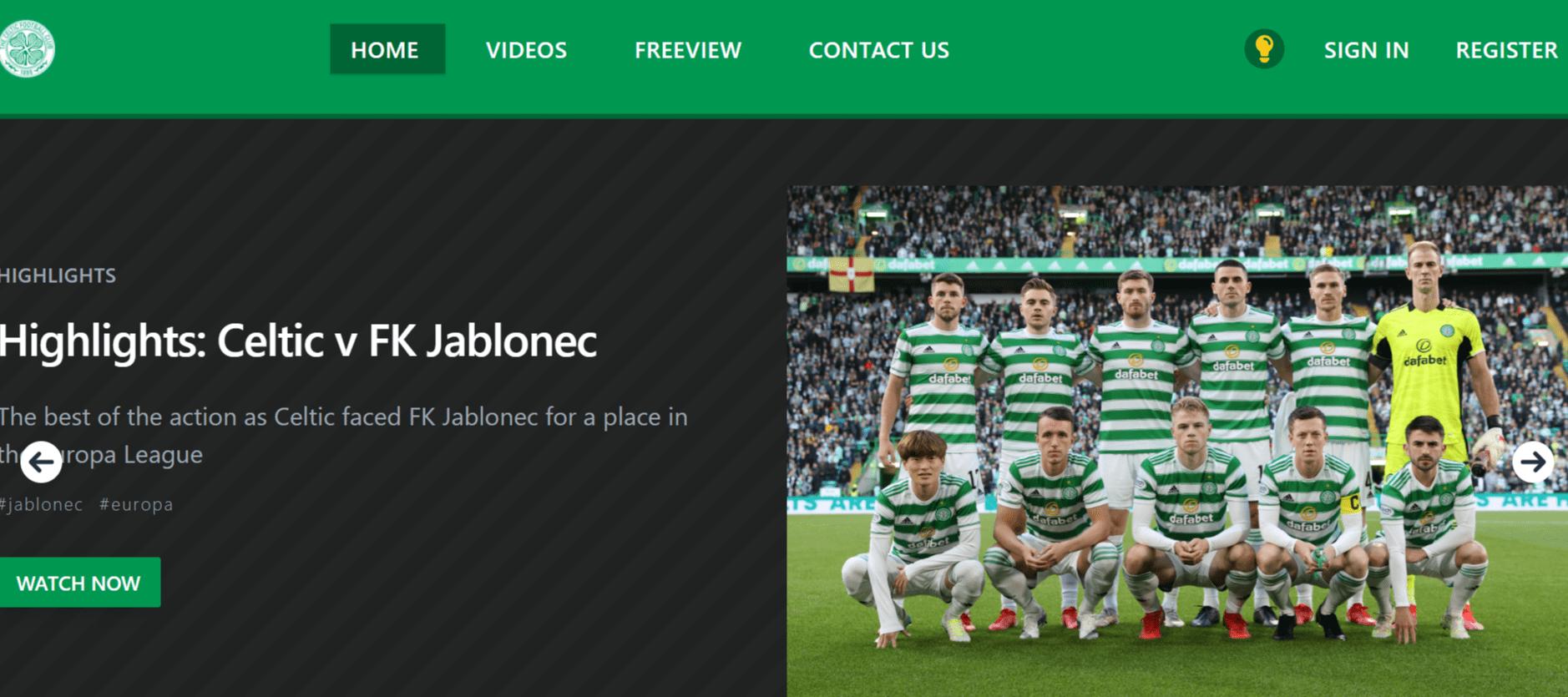 セルティックtv_CelticTV_TOP